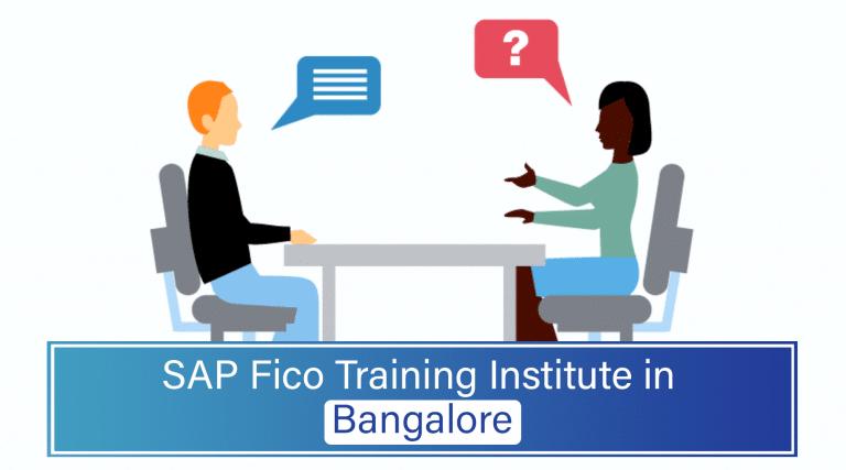 SAP Fico Training Institute in Bangalore