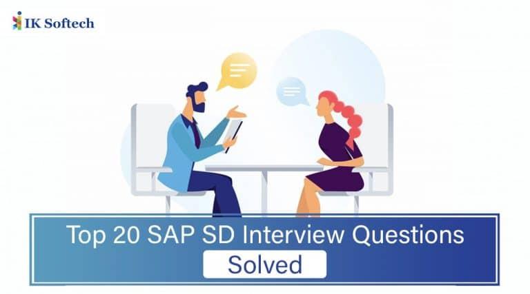 SAP SD Interview Questions